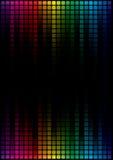 Grafische Entzerrer-Bildschirmanzeige lizenzfreie abbildung