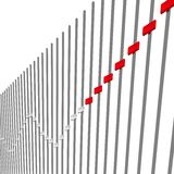 Grafische equaliser Stock Afbeelding