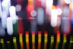 Grafische equalisers Stock Fotografie