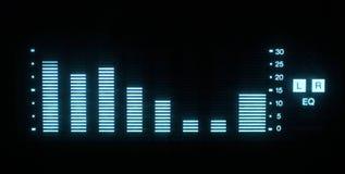 Grafische equalisers Stock Afbeelding