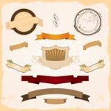 Grafische Geplaatste Banners Royalty-vrije Stock Fotografie