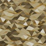 Grafische Goldbeschaffenheit Stock Abbildung