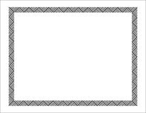 Grafische Grens Royalty-vrije Stock Afbeeldingen