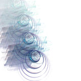 Grafische grens/Zaken - stock illustratie