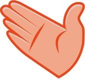 Grafische Hand royalty-vrije illustratie