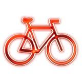 Grafische het embleem van de fiets   Stock Foto's