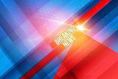 Grafische Hintergrund-Konzept-Reihe der letzten Nachrichten lizenzfreie abbildung