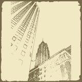 Grafische illustratie met decoratieve architectuur 36 Royalty-vrije Stock Foto's