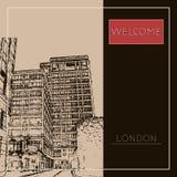 Grafische illustratie met decoratieve architectuur 69 Stock Afbeeldingen