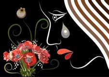 Grafische illustratie met decoratieve opiaten 10 Royalty-vrije Stock Foto's
