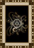 Grafische illustratie met geheim symbool 2 stock illustratie