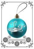 Grafische illustratie met Kerstmisdecoratie 32 Stock Afbeelding