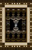 Grafische illustratie van een Tarotkaart 7 Royalty-vrije Stock Foto's