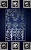 Grafische illustratie van een Tarotkaart 10_2 Royalty-vrije Stock Afbeeldingen