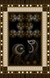 Grafische illustratie van een Tarotkaart 12 Stock Afbeeldingen