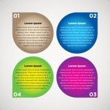 Grafische informatie Stock Afbeeldingen