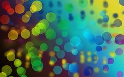Grafische Luftblase mit Kunsthintergrund Stockfotografie