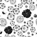 Grafische mit Blumenbeschaffenheit lizenzfreie abbildung