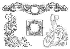 Grafische ontwerpelementen Royalty-vrije Stock Foto's