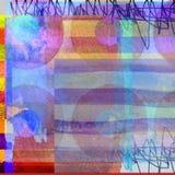 Grafische ontwerpsamenstelling als achtergrond Royalty-vrije Stock Afbeelding