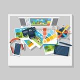 Grafische ontwerpvector Stock Fotografie