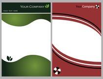 Grafische reeks 4 van de brochure Stock Fotografie