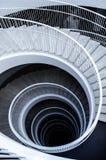Grafische spiraalvormige treden Royalty-vrije Stock Fotografie