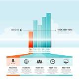 Grafische Stange Infographic-Elemente vektor abbildung