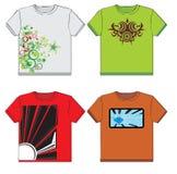 Grafische T-Shirts vektor abbildung