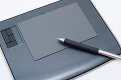 Grafische tablet Royalty-vrije Stock Foto's
