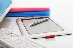 Grafische Tablette Lizenzfreie Stockfotos