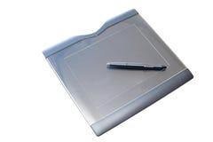 Grafische Tablette Stockbild