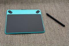 Grafische Tablette Lizenzfreies Stockfoto