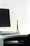 Grafische Tablette auf Schreibtisch Lizenzfreies Stockbild