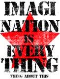 Grafische Vectorontwerp van de slogan het Uitstekende T-shirt Stock Afbeelding