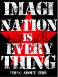 Grafische Vectorontwerp van de slogan het Uitstekende T-shirt Stock Afbeeldingen