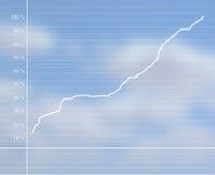 Grafische vertegenwoordiging Royalty-vrije Stock Foto