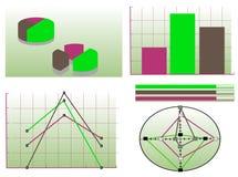 Grafische zaken Stock Foto's