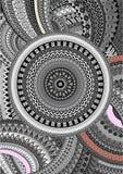Grafischer dekorativer Hintergrund Lizenzfreie Stockfotografie