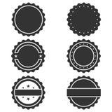 Grafischer Ikonensatz der Stempel lizenzfreie abbildung