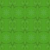 Grafisches abstraktes Design der Blattstielblumen-Tapete Lizenzfreie Stockfotografie