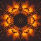 Grafisches Bild mit Kaleidoskopart-Entwurfszusammenfassung vektor abbildung