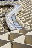 Grafisches Detail der Beschaffenheit von Metropol-Sonnenschirm Lizenzfreies Stockbild