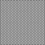 Grafisches nahtloses Muster gemacht vom schwarzen Bienenwabenmuster über Weiß Lizenzfreie Stockfotografie
