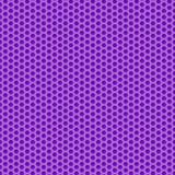 Grafisches nahtloses Muster gemacht vom schwarzen Bienenwabenmuster über Weiß Lizenzfreie Stockbilder