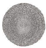 Grafisches Schwarzweiss-Labyrinthlabyrinth Lizenzfreies Stockbild