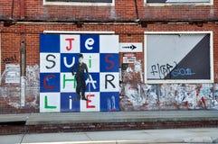 Grafisches Wandgemälde: Redefreiheit lizenzfreie stockfotografie