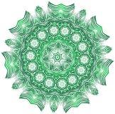 Grafisk dekorativ blomma Fotografering för Bildbyråer