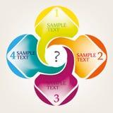 Grafisk design för info Royaltyfria Foton