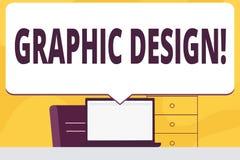 Grafisk design för ordhandstiltext Affärsidé för konst av kombination av textbilder, i annonsering av tomt enormt anförande royaltyfri illustrationer